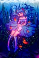 Fishing blue by YunkoYun