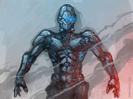 robo sketch by marcnail