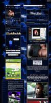 Blue TX Myspace Layout by LilFlac3