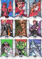 Anthony Grymjack Gay's 2014 Marvel Premier set 2 by Grymjack