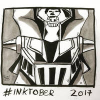 Inktober 2017, Day 10, Gigantic by maestromakhan