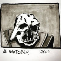 Inktober 2017, Day 12, Shattered by maestromakhan