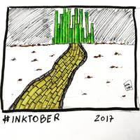 Inktober 2017, Day 22, Trail by maestromakhan
