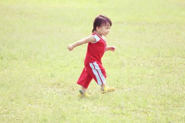 a cute little boy by lisz
