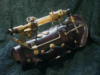 Chaotica Steampunk Arm Gun by Skinz-N-Hydez