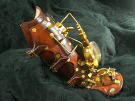 Time Warp Steampunk Cuff FIN1 by Skinz-N-Hydez