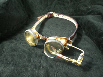 Extra Hand Steampunk Goggles by Skinz-N-Hydez