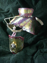 Steampunk Shoulder Arm Piece by Skinz-N-Hydez