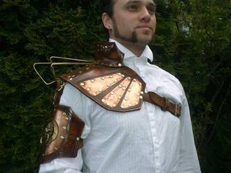 Steampunk Sky Captains armor by Skinz-N-Hydez