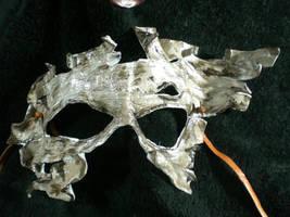 Birch Bark Leather Mask by Skinz-N-Hydez