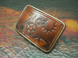 Steampunk Belt Buckle by Skinz-N-Hydez