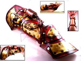 BFG Steampunk Bracer by Skinz-N-Hydez