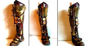 Inquisitor Steampunk Half Leg by Skinz-N-Hydez