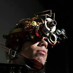 steampunk goggle helmet by Skinz-N-Hydez