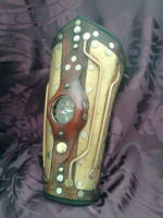 Steampunk navigator's bracer the 3rd by Skinz-N-Hydez