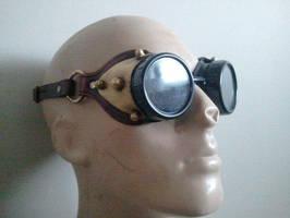Steampunk Goggles by Skinz-N-Hydez