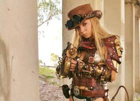 Steampunk Raider by Skinz-N-Hydez