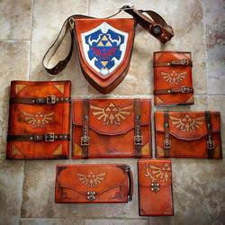 Leather Zelda Gear! by Skinz-N-Hydez