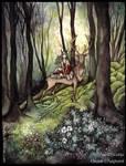 Esprits des Bois by Sieskja
