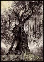 L'arbre au loup by Sieskja