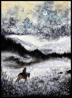 Frozen Landscape by Sieskja