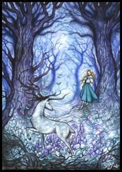 Dans le Cristal d'une Fontaine by Sieskja