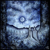 Moonlit Night by Sieskja