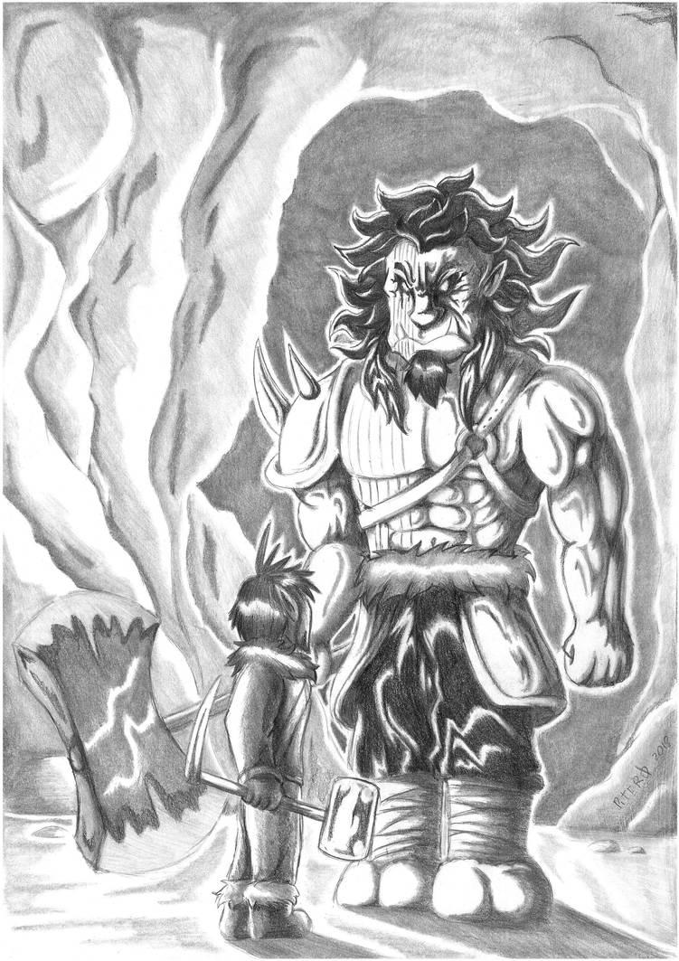 DnD Adventures #2 - Goliath by Piterq12