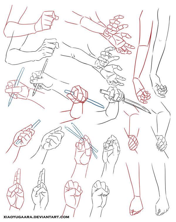 Hand Study 2 by xiaoyugaara