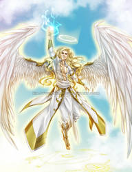 UC_Archangel Michael by xiaoyugaara