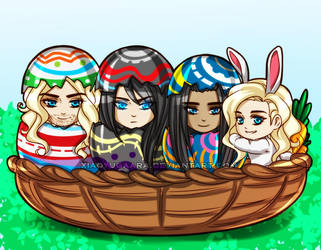 UC: Happy Easter! by xiaoyugaara