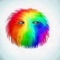 rainbow pluff by yubbi45