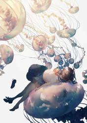 jellyfish by RecnepsSais