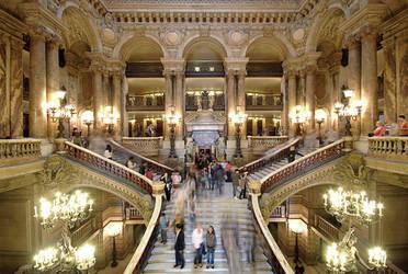 Opera Garnier by ArtSouilleurs