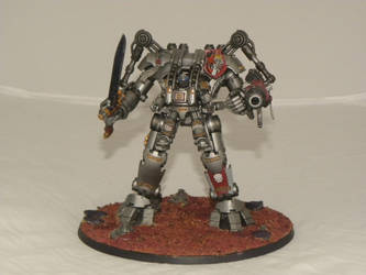 Grey Knights Dreadknight 1 by SpearofSicarius
