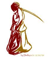 Samurai by Shelleyna