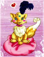 Fluffy Cat by Shelleyna