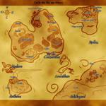Peridot quest map by Shelleyna