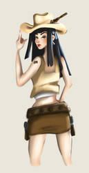 Cowgirl by Shelleyna