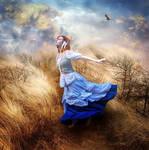 Blue Lady by kayceeus
