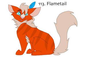 113. Flametail by Zee-Stitch