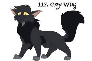 117. Greywing by Zee-Stitch