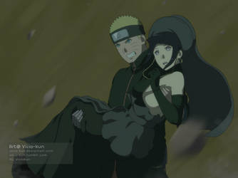 NaruHina month day 28 - In your arms by vicio-kun