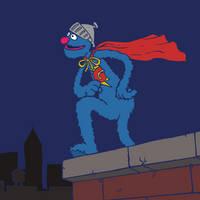 Throng Thursday - Super Grover by KahunaBlair