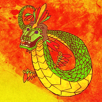 Monster Monday - Quetzalcoatl by KahunaBlair