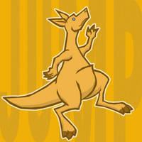 Wild Wednesday - Kangaroo by KahunaBlair
