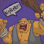 Monster Monday - Cyclops by KahunaBlair