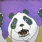 Terrible Tuesday - Prof. Panda by KahunaBlair