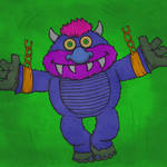 Fan Friday - My Pet Monster by KahunaBlair