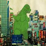 Monster Monday - Godzilla by KahunaBlair